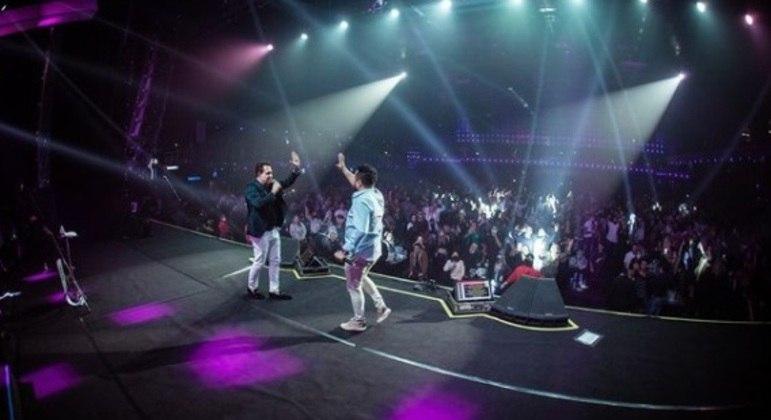 Parceria envolve a realização de shows de diversos artistas, como a dupla Bruno e Marrone