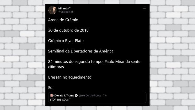 Parece que a virada do River Plate em 2018 marcou demais a vida dos torcedores do Grêmio. O jogo deveria ter parado antes daquele pênalti no finalzinho?