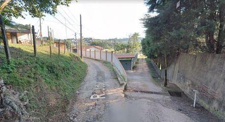 Rua em Parelheiros onde havia loteamento ilegal