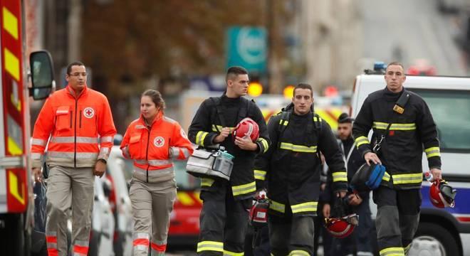 Homem matou quatro pessoas na sede da polícia de Paris