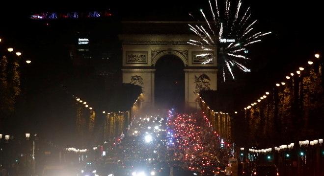 Torcedores lotaram ruas de Paris na classificação para final da Champions