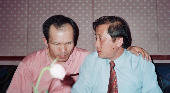 Park Chae-seo e um de seus contatos da inteligência norte-coreana