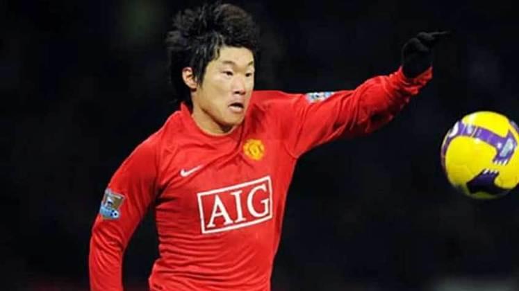 Park Ji-Sung - meio-campista sul-coreano destacou-se com Alex Ferguson no Manchester United. Hoje está aposentado.