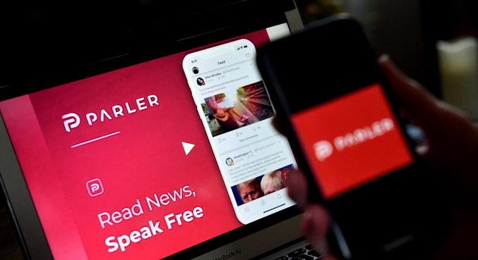 Rede social preferida dos trumpistas, Parler foi vetada em plataformas de download