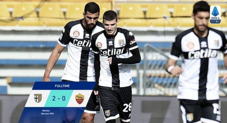 Depois de 100 dias, uma vitória do Parma