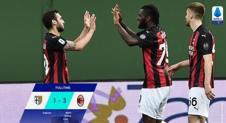 Parma 1 X 3 Milan