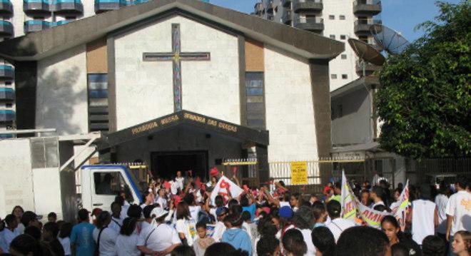 Paróquia Nossa Senhora das Graças, na cidade de Praia Grande