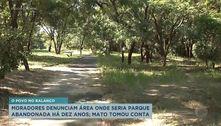 Moradores de Ribeirão denunciam parque abandonado há 10 anos
