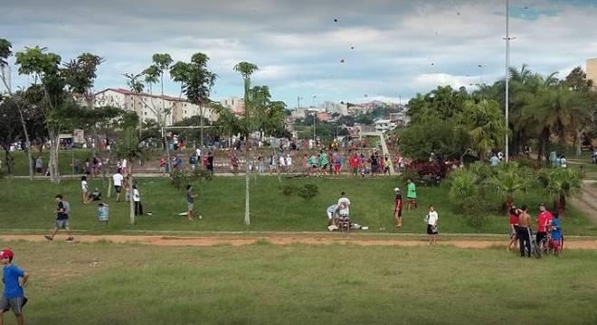Acidente ocorreu em frente ao parque Ana Brandão em Santo André