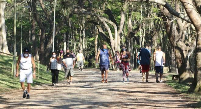 Reabertura de parques de SP completa 1 mês com mais de 840 mil frequentadores