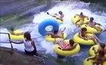 Três adolescentes morreram nessa piscina de ondasVEJA TAMBÉM:Tubarão-branco colide com barco e deixa pescadores em pânico