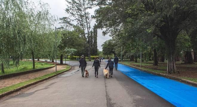 Parque do Ibirapuera no primeiro fim de semana de reabertura