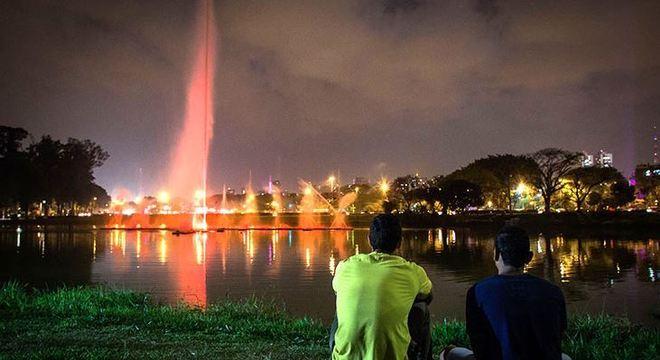 Parque do Ibirapuera, na zona sul, foi um dos espaços concedidos por 35 anos