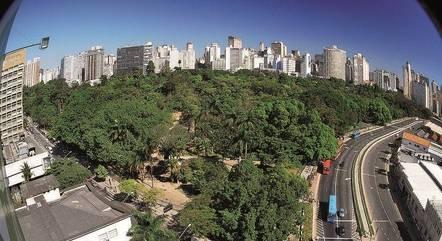 Parque Municipal fica no Centro de Belo Horizonte