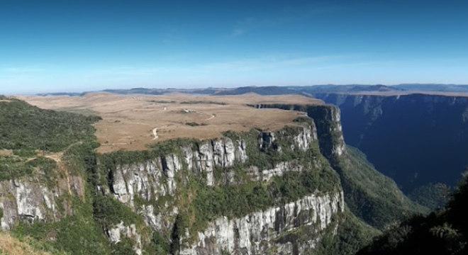 Serra Geral é uma unidade de conservação localizada na divisa entre RS e SC