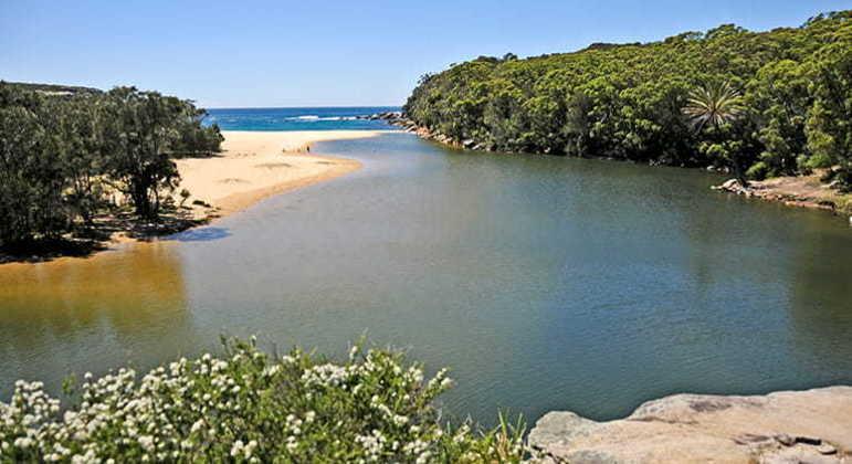 Parque Real Nacional fica próximo à praia