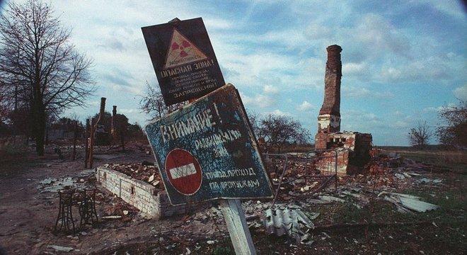 O desastre em Chernobyl em 1986 foi um dos acidentes nucleares mais mortíferos da história