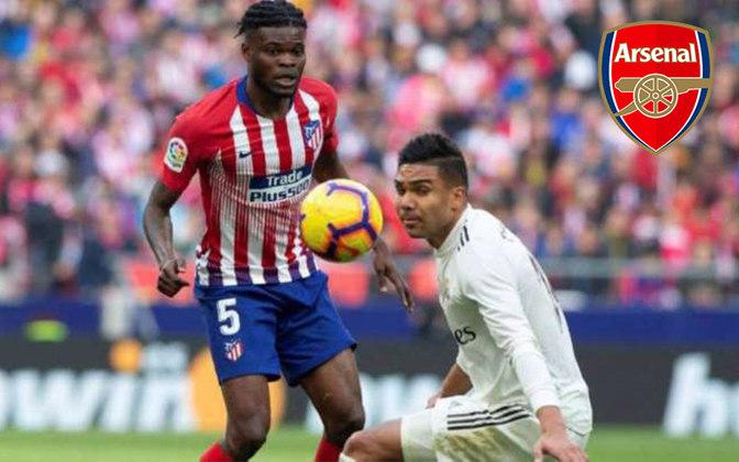 Partey. Posição: Meia. Idade: 26 anos. Clube atual: Atlético de Madrid. Clube interessado: Arsenal.