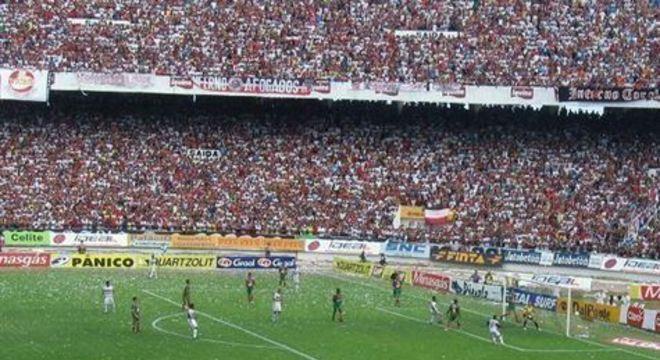 Partida contra a Portuguesa, pela Série B de 2005, só não arrecadou mais que jogo diante do Bahia, pelo Nordestão