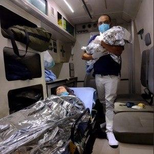Rafael nasceu na ambulância