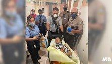 Mulher dá à luz no aeroporto de Miami e batiza a filha com sua sigla