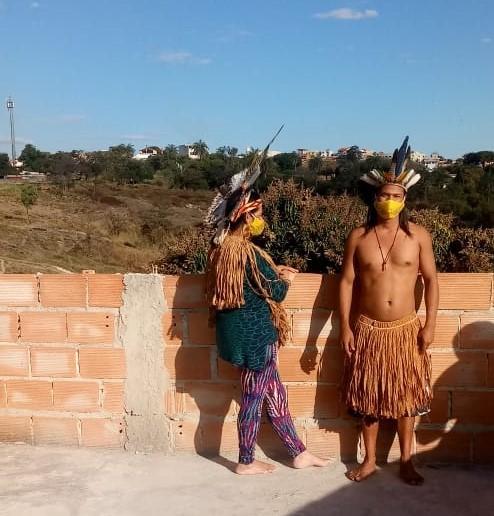 Treze famílias Pataxó estão vivendo em vila de Belo Horizonte