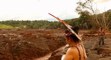 Indígenas deixaram a tribo após rompimento