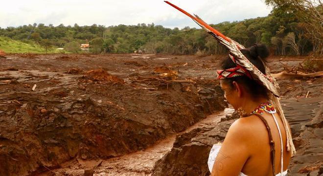 Aldeia dos Pataxó foi atingida por rompimento da barragem da Vale