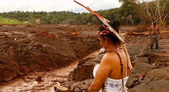 Aldeia foi atingida pelo rompimento da barragem de Brumadinho