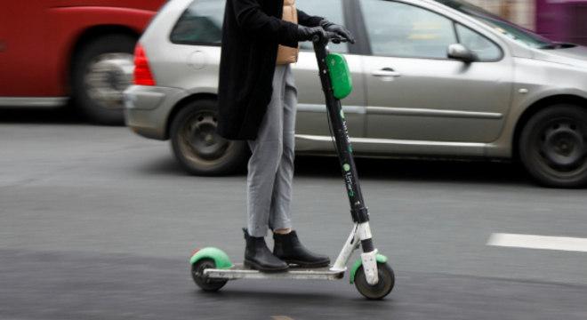 Empresas reduziram suas frotas de patinetes em São Paulo