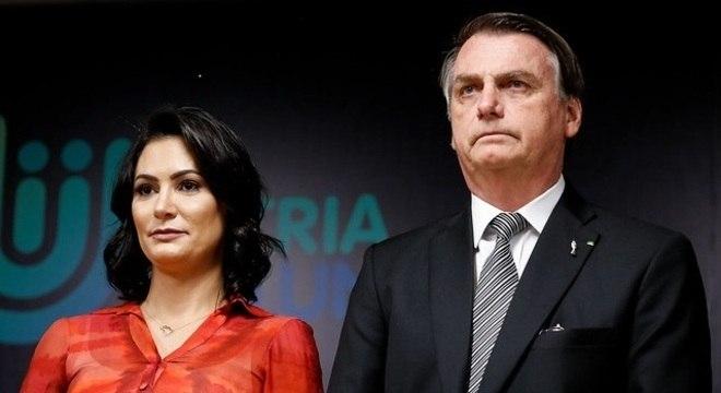 Michelle Bolsonaro e Jair Bolsonaro viajarão para compromissos em Nova York