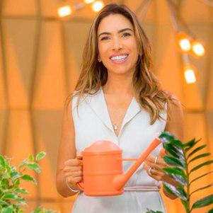 """Patrícia Abravanel, uma das apresentadoras do """"Vem Pra Cá"""""""