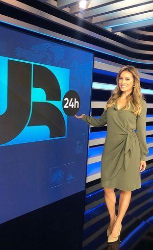 Patrícia Costa apresenta boletim JR 24H