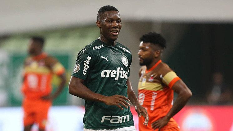 Patrick de Paula (21) - Palmeiras - Valor atual: 9 milhões de euros - + % - Diferença: 9 milhões de euros