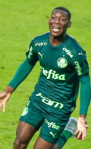Patrick vem de destacando no Palmeiras, nesta temporada