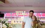 No começo de setembro, astro da NFL pediu Brittany Matthews em casamento. O casal ficou noivo em uma pequena celebração que teve alguns familiares e amigos. A surpresa feita por Patrick parece ter funcionado, a americana disse 'SIM!'