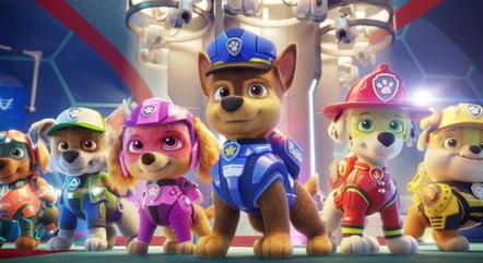 Sucesso na TV, animação 'Patrulha Canina' ganha seu primeiro filme nas telonas