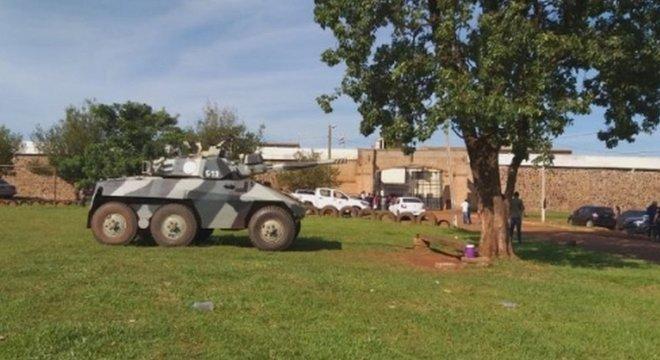 Patrulhamento foi reforçado em presídios do Paraguai onde estão membros do PCC