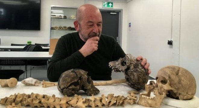 Paul O'Higgins, professor da Universidade de York, no Reino Unido, é um dos autores do estudo sobre o rosto humano