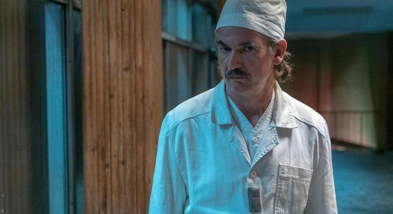 Paul Ritter em 'Chernobyl'