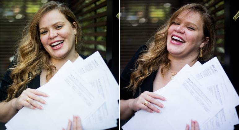 Após ganhar mais de 48 vezes na loteria, Paulinha Leitte posa para fotos
