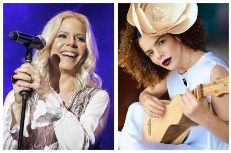 Paula e Vanessa celebram volta aos palcos