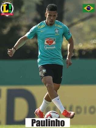 Paulinho - 6,5 - O atacante entrou no lugar de Matheus Cunha, que saiu machucado, mas participou bem dos momentos ofensivos e criou duas chances de gol