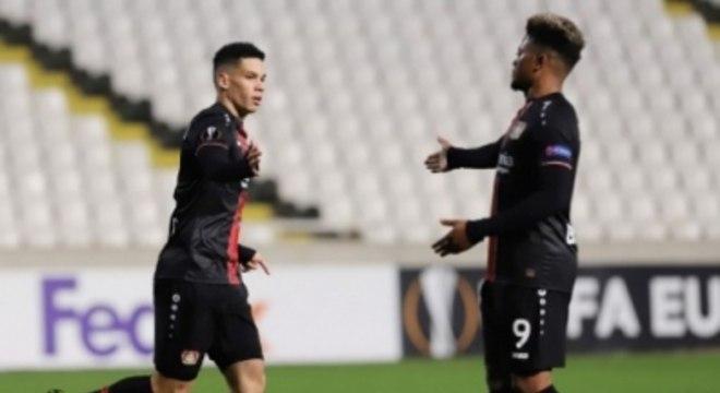 Paulinho - AEK Larnaca x Bayer Leverkusen