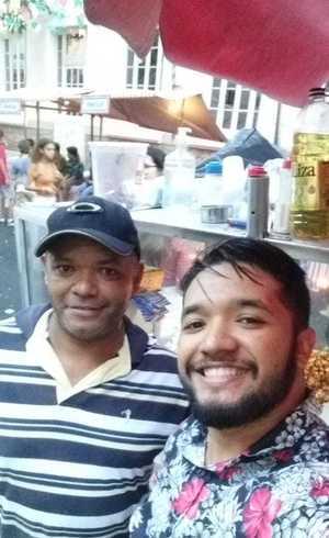 Gilberto e Paulo, pipoqueiros