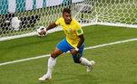 Paulinho, Sérvia x Brasil, Copa 2018,