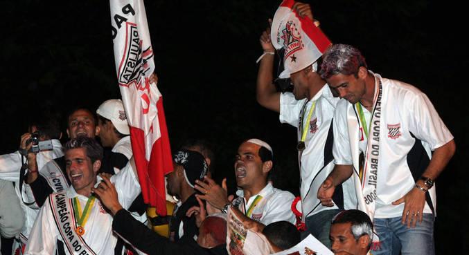 Paulista de Jundiaí foi campeão da Copa do Brasil 2005