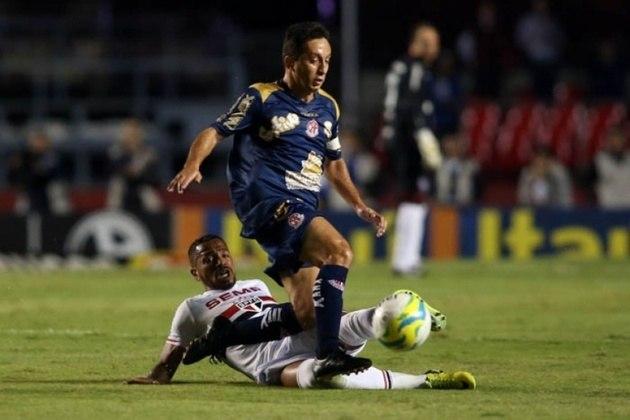 Paulistão 2014/Quartas/Penapolense: Depois de um empate sem gols no tempo normal, o São Paulo perdeu para o clube do interior nos pênaltis por 5 a 4 e acabou sendo eliminado precocemente no estadual.