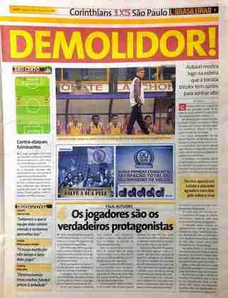 Paulo Autuori teve a estreia dos sonhos como técnico do São Paulo. Ele conquistaria a Libertadores e o Mundial naquele ano, além de não perder nenhuma vez para o Corinthians.