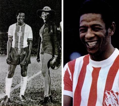 Paulo Borges - Ex-ponta-direita, fez parte da equipe campeã do Campeonato Carioca de 1966.